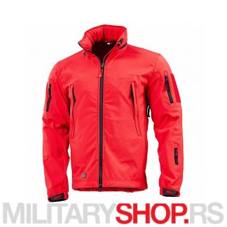 Softshell jakna crvena Pentagon Artaxes