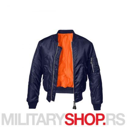 Fajerka MA1 Brandit jakna Navy Blue