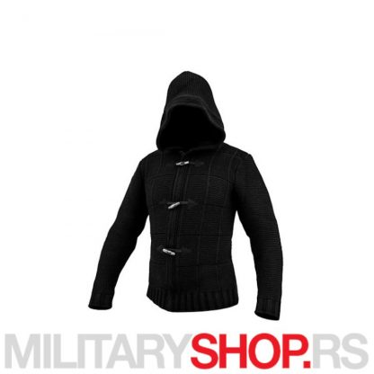 Assassin crni zimski džemper Armoline