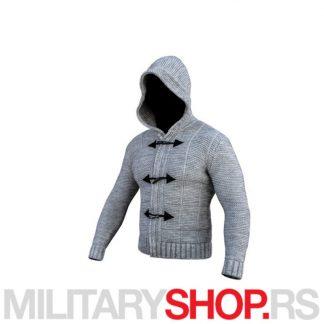 Assassin svetlo-sivi džemper Armoline
