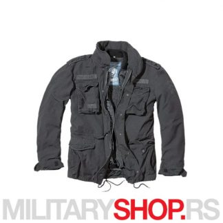 Vijetnamka Brandit M65 crna jakna Giant