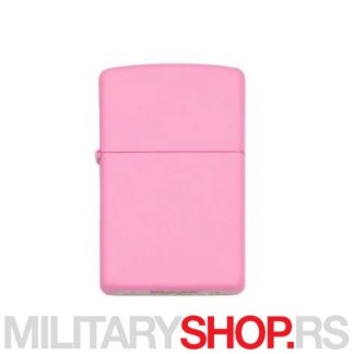 Zippo roze upaljač Pink matte 238