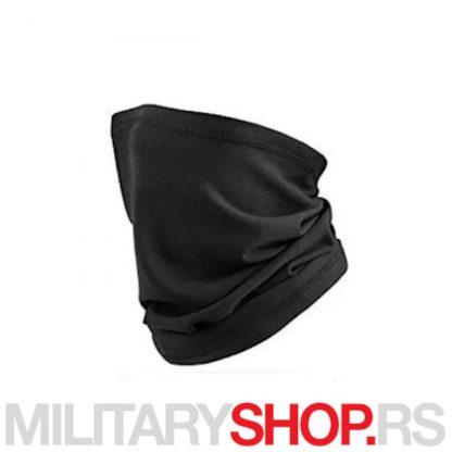 Crna moto bandana - potkapa