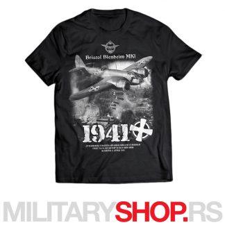 Majica Jugoslovenska kraljevska avijacija 1941. godina CRNA BOJA