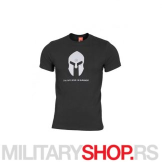 Spartan Helmet Pentagon crna majica od pamuka