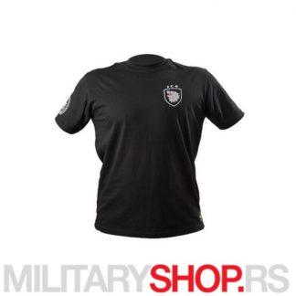 JSO logo majica kratkih rukava crna