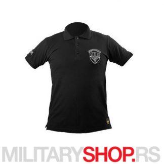 Kobre polo majica u crnoj boji