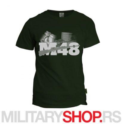 Petometka M48 Caprella zelena majica