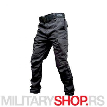 Rip-Stop crne pantalone Armoline Police
