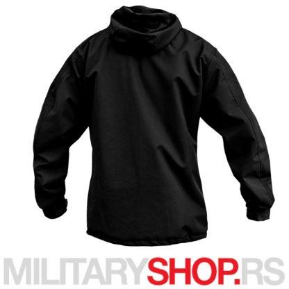 Crna Anorak šuškavac jakna Armoline Travel Defence